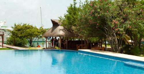 Hotel Marina acepta mascotas en Cancun