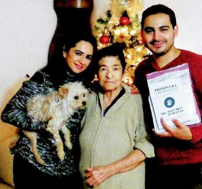 Benito y su familia