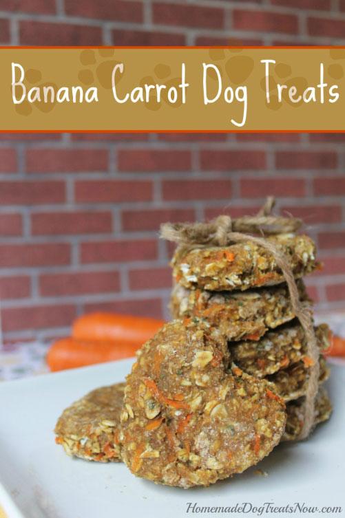 recetas de zanahoria y platano para perros