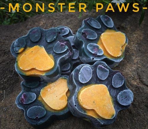 Paletas de calabaza para perros