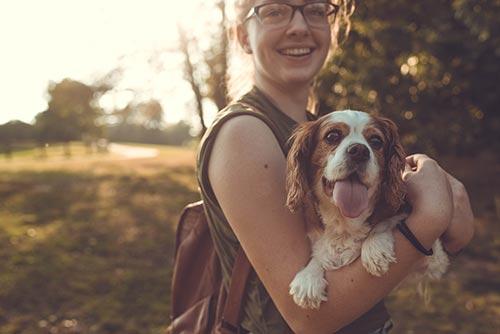 Pasear dos perros